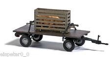 Busch 44929 Remorque avec Box de porc,H0 Voiture Véhicule modèle déjà assemblé 1