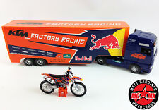 Ryan Dungey KTM Factory Racing RED BULL Motocross Race Truck + 1:18 Bike COMBO