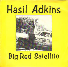 "HASIL ADKINS 'Big Red Satellite 7"" NEW 1987 Norton Psychobilly cramps Rockabilly"
