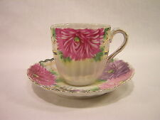 Nippon Hand Painted Cup and Saucer