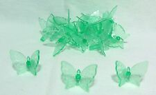 30 Beautiful Large Butterfly Ceramic Christmas Tree Bulb/Lights Ornaments~ Green