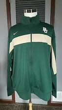 Baylor University  NCAA Nike Dri-Fit Zip Front Jacket Coat Jacket Men's 2XL