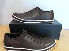 NIB NEW Kenneth Cole New York Brand Wagon BROWN Mens Fashion Sneakers SIZE 10.5
