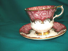 Paragon Cup & Saucer - By Appointment to HM the Queen