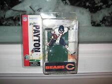 MCFARLANE NFL LEGENDS 2 WALTER PAYTON RARE WHITE JERSEY CHASE VARIANT BEAR