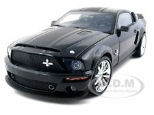 2008 SHELBY MUSTANG GT500 SUPER SNAKE BLACK 1/18 BY SHELBY COLLECTIBLES SC303