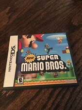 New Super Mario Bros.Nintendo DS NDS With Manual Nice Cib X1