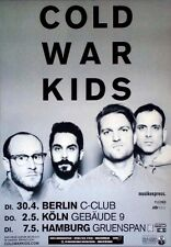 COLD WAR KIDS - 2013 - Tourplakat - Dear Miss Lonelyhearts - Tourposter