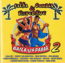 Baila Sin Parar - salsa & Cumbia & merengue Vol. 2 CD (15 Track )