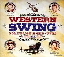 WESTERN SWING - TOE TAPPING, BOOT STOMPING COUNTRY! (NEW SEALED 2CD)