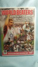 World Beaters Englands Triple Victories Rugby 2002 [DVD] NEW & SEALED,AllRegions