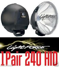 Pair of 240 HID LIGHTFORCE Driving Light Force 12v 35 watts Off Road Light force