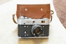 FED-3 (russian LEICA) HQ USSR film camera export v70s VG condition test photos