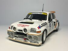 solido 1:18 RENAULT MAXI 5 TURBO 1986 P. THOMASSE Rally Car S1850005 Diecast car
