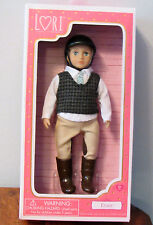 "Our Generation Lori Doll EVAN Equestrian Horse Riding Blonde ** BOY ** 6"" NIB"