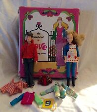 World Of Love Dolls 1971 Adam And Love Plus Carrying Case
