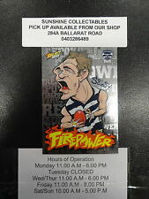 2013 AFL CHAMPIONS FIREPOWER CARICTURE FC20 JOEL SELWOOD GEELONG CATS
