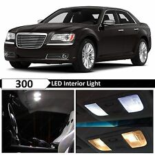 15x White Interior LED Lights Package Kit for 2011-2014 Chrysler 300 300C