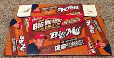 "Dale Earnhardt Jr Signed BIG MO ""Big Moment"" Chocolate Caramel Bar Display Box"