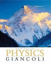 Physics: Principles with Applications Volume II (Ch. 16-33) (6th Edition), Gianc