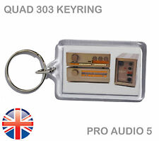 Quad 303 Vintage Hi-Fi Amplifier Amp - Keyring - Keychain - UK FAST POST