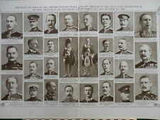 1914 MENTIONED IN DESPATCHES  SEPT-OCT 1914 AISNE BATTLE WWI WW1 (DOUBLE PAGE)