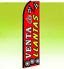 Swooper Feather Flutter Tall Banner Sign Flag 11.5 ft - VENTA DE LLANTAS rq