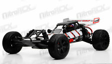 1/10th Mad Gear Racing Desert Wolf Baja 2WD RTR Electric RC Car Buggy RED NEW