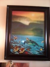 WYLAND OIL PAINTING COLLECTOR'S PRINT 1996- AUTOGRAPHED ON 9/2/2012