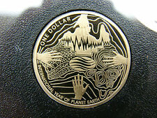 2008 Year of Planet Earth $1 proof coin. Only 28,569 made! SCARCE!Commemorative!