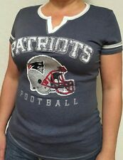 Women's New England Patriots Majestic Gray T-shirt
