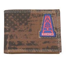 HOOey Western Mens Wallet Bifold Leather Oil Gear Brown 1678161W3