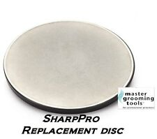 REPLACEMENT DISC for Master Grooming Tools XL SIZE PRO SharpPro BLADE SHARPENER