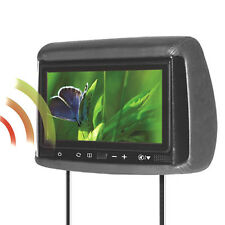 "Concept BSS-905M 9"" Chameleon Headrest TFT Monitor w/ Miracast WiFi & 3 Covers"