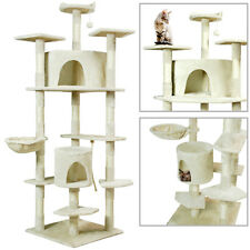 PET PALACE Cat Tree Scratcher Play House Condo Furniture Toy Bed Post House 80""