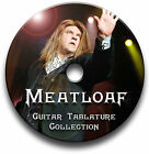 MEATLOAF HEAVY ROCK GUITAR & KEYBOARD TABS TABLATURE SONG BOOK SOFTWARE CD