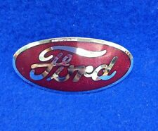 1932 FORD PASS RADIATOR EMBLEM  (RED COLOR)