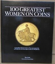 100 Greatest Women on Coins by Ron Guth Hardcover Book