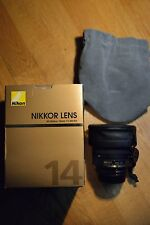 Nikon AF Nikkor 14mm f2.8 D ED Super Wide Angle Full Frame (FX) Lens - SHARP!