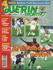GUERIN SPORTIVO=N.29 1996=NO POSTER=ROBERTO BAGGIO=LIPPI=MONTERO=OLIMPIADI=PROTT