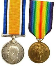 WW1 BRITISH WAR & VICTORY MEDAL PAIR T-1012.S.SJT.E.KNIGHT.A.O.C