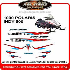1999 POLARIS INDY 500  HOOD DECALS graphics reproductions