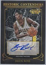 2012-13 PANINI CONTENDERS HISTORIC CONTENDERS AU #36 JALEN ROSE #57/99 EXCH