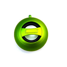 New Portable XMI X-Mini II 2 Mini Hamburger Capsule Speaker Green 3.5MM
