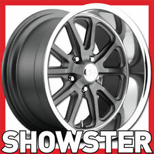 "17x7 17x8 17"" US Mags wheels Rambler U111 Holden HQ WB HZ Chevy Camaro Monaro"