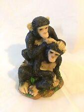 Couple  Monkey Figurine