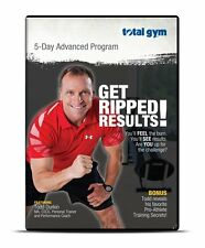 TOTAL GYM 5 DAY ADVANCED PROGRAM GET RIPPED RESULTS DVD