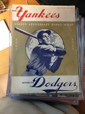 1953 World Series Official Program Yankees VS Dodgers
