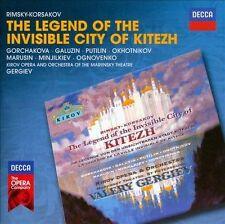 GERGIEV**RIMSKY-KORSAKOV: LEGEND OF THE INVISIBLE CITY OF KITEZH**2 CD SET