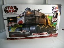 Star Wars Legacy CLONE TURBO TANK Electronic Hasbro 2009 The Clone Wars ~ MISB